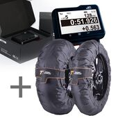SpeedAngle Apex Lap Timer + Thermal Technology Performance Series Tyre Warmers Bundle