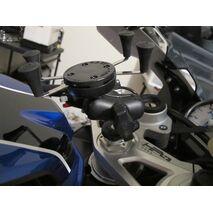 RAM-B-176-A-UN7U - RAM Fork Stem Mount with Short Double Socket Arm & Universal X-Grip® Cell/iPhone Cradle