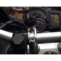 RAM Motorcycle Handlebar Clamp Base with M8 Screws