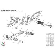 Bonamici Racing BMW S1000RR 2015 - 2018 Rear Sets