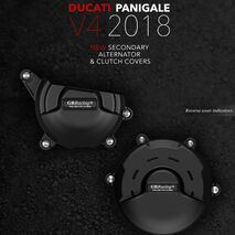 GBRacing Engine Case Cover Set for Ducati Panigale V4 2018