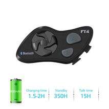 Lexin FT4 Bluetooth Headset RAM Mounts Combo