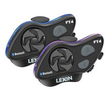 Lexin FT4 Bluetooth Headset Twin Pack