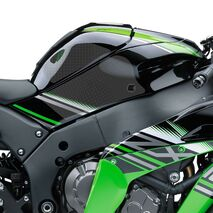 Eazi-Grip EVO Tank Grips for Kawasaki ZX10R, Clear or Black