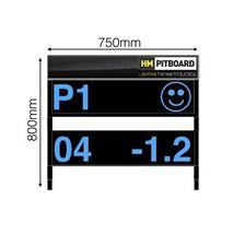 HM Digital Motorcycle Pit Board – 2 Level LED Display