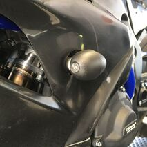 GBRacing Bullet Frame Sliders / Crash Knobs (Race) for Suzuki GSX-R 1000 2017 to Current Models